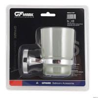 GFmark - Стакан стеклянный с креплением к стене, код 1106
