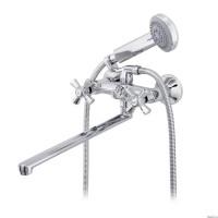 Смеситель для ванны Raiber Ventis R7004 с двумя рукоятками