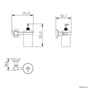 Дозатор для мыла Raiber RB52012