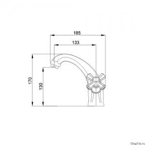 Смеситель для раковины Raiber Ventis R7001